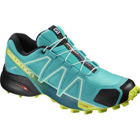 Salomon Speedcross 4 Shoes Women Bluebird/Acid Lime/Black